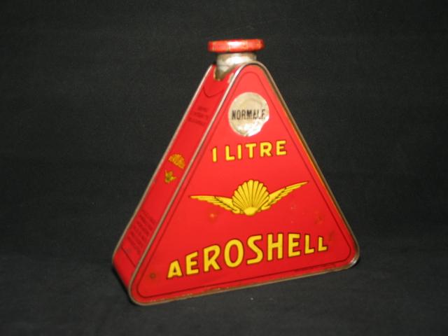 Shell driehoek shellblik