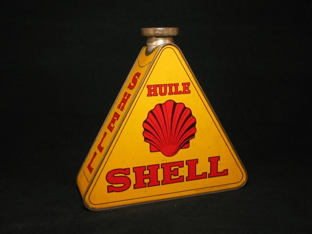 Shell Driehoek olieblik