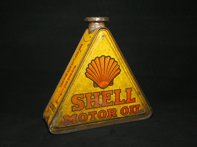 Shell driehoekblik
