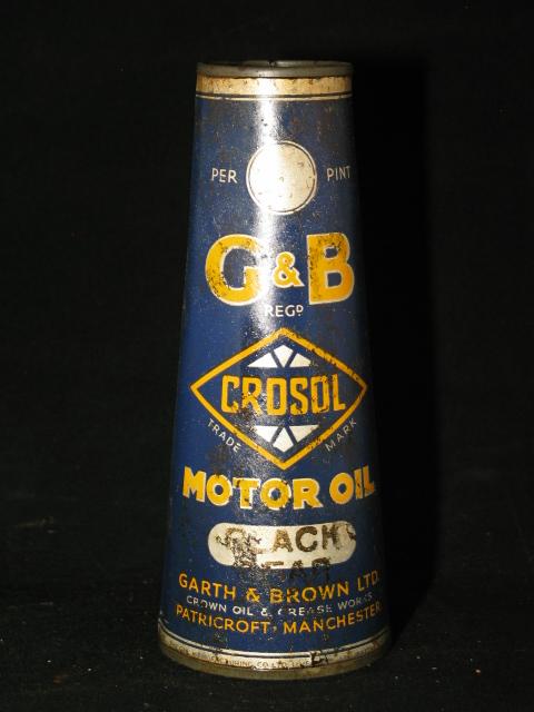 Conisch G&B olieblik