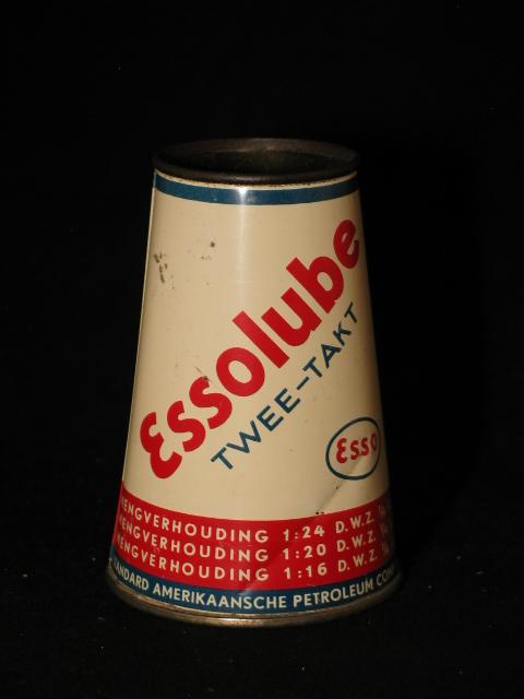 Conisch Essolube olieblik