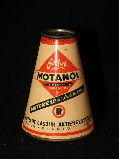 Conisch Motanol olieblik