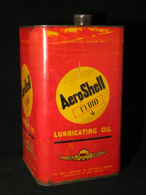 Aeroshell olieblik